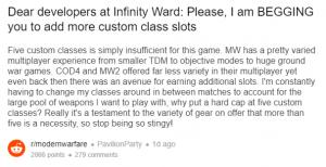 reddit MW classes